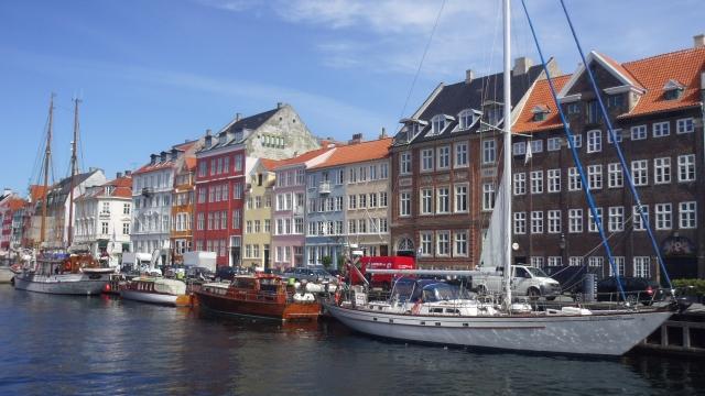幸福先進国 デンマークの街並み