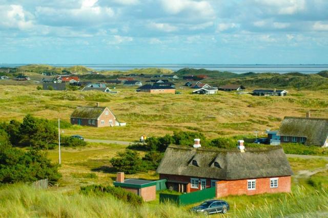 デンマーク 幸福先進国 田舎の風景