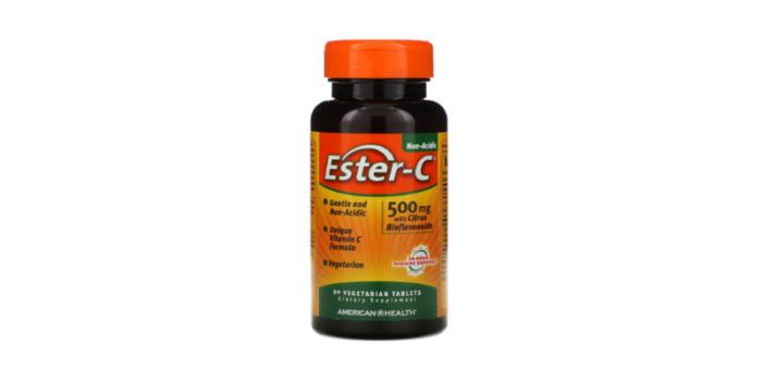 アイハーブのビタミンCサプリEster-C(エスターC)の90粒入り